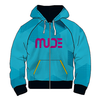 Leisure Hoodie Jacket 2 layers JAXX Turquoise