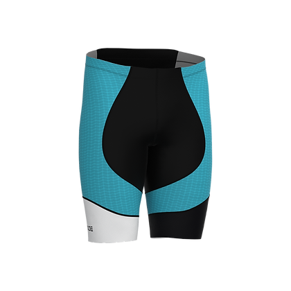 Male Cycling Shorts HIPS Turquoise