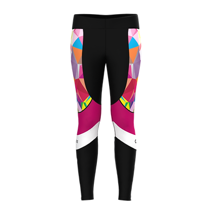Female Ankle Tights PRISMA Pink