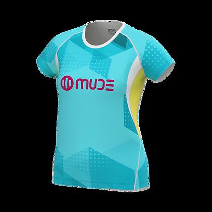 Female T-Shirt JAXX Turquoise