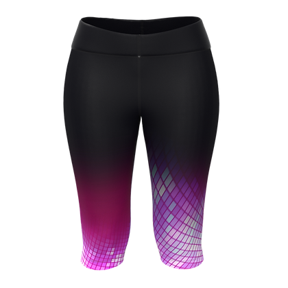 Female Knee Tights DANCE FLOOR Purple