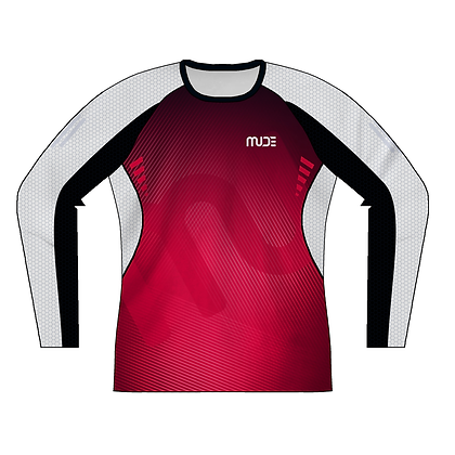 Male Long Sleeve Shirt REXX Red