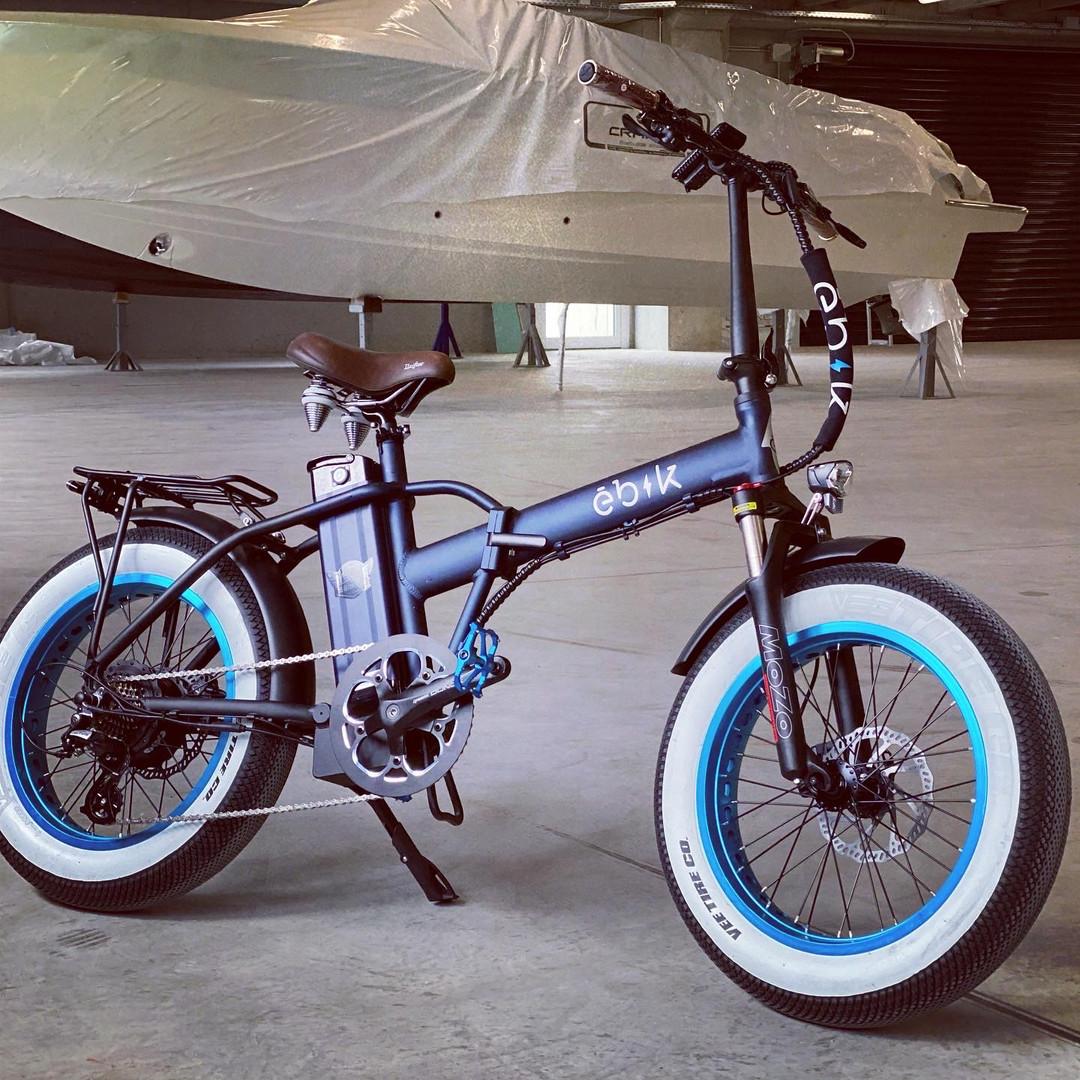 Ebik Brick Lane Blue Custom