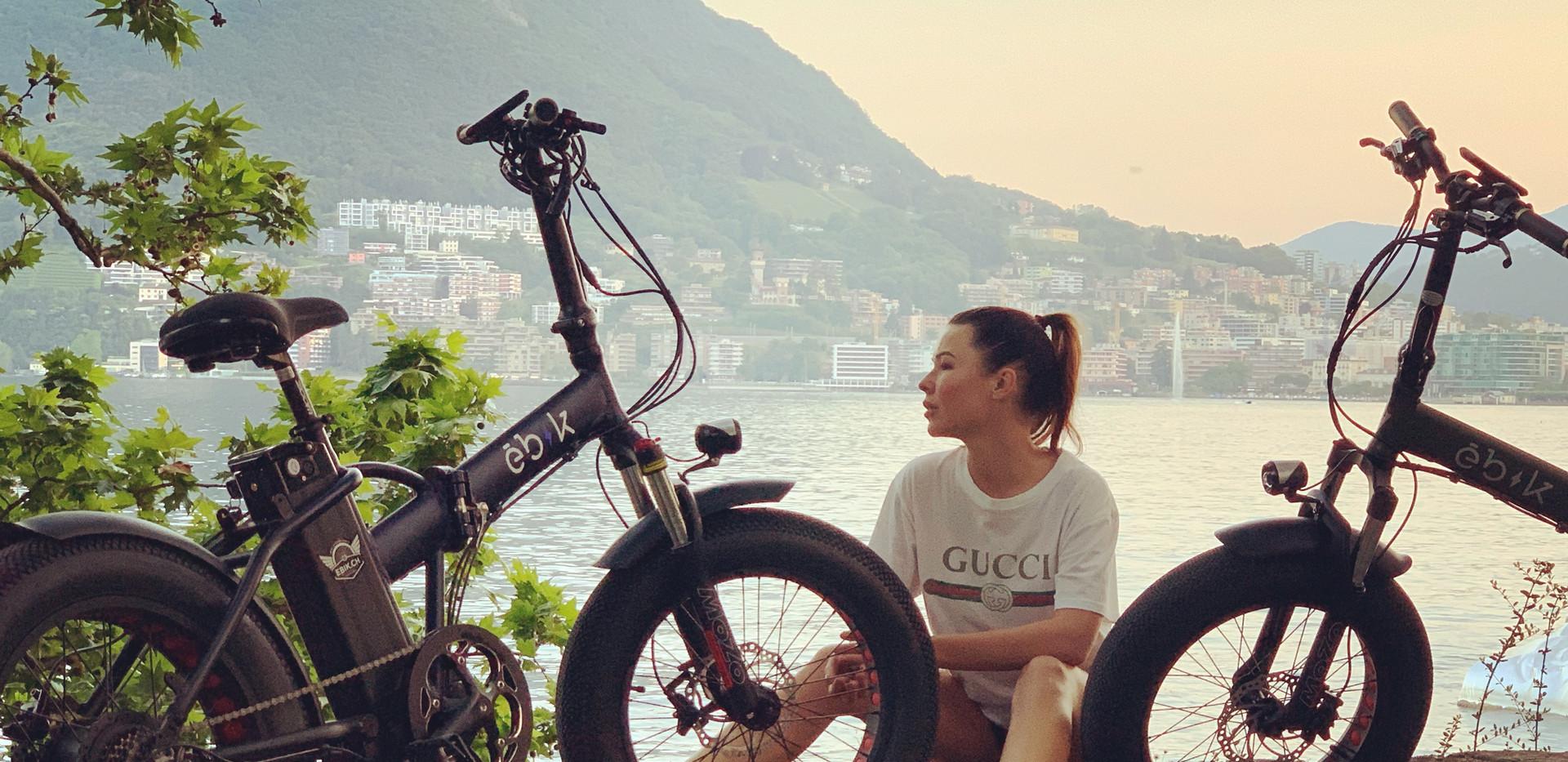 Ebik Brick Lane on Lugano Lake