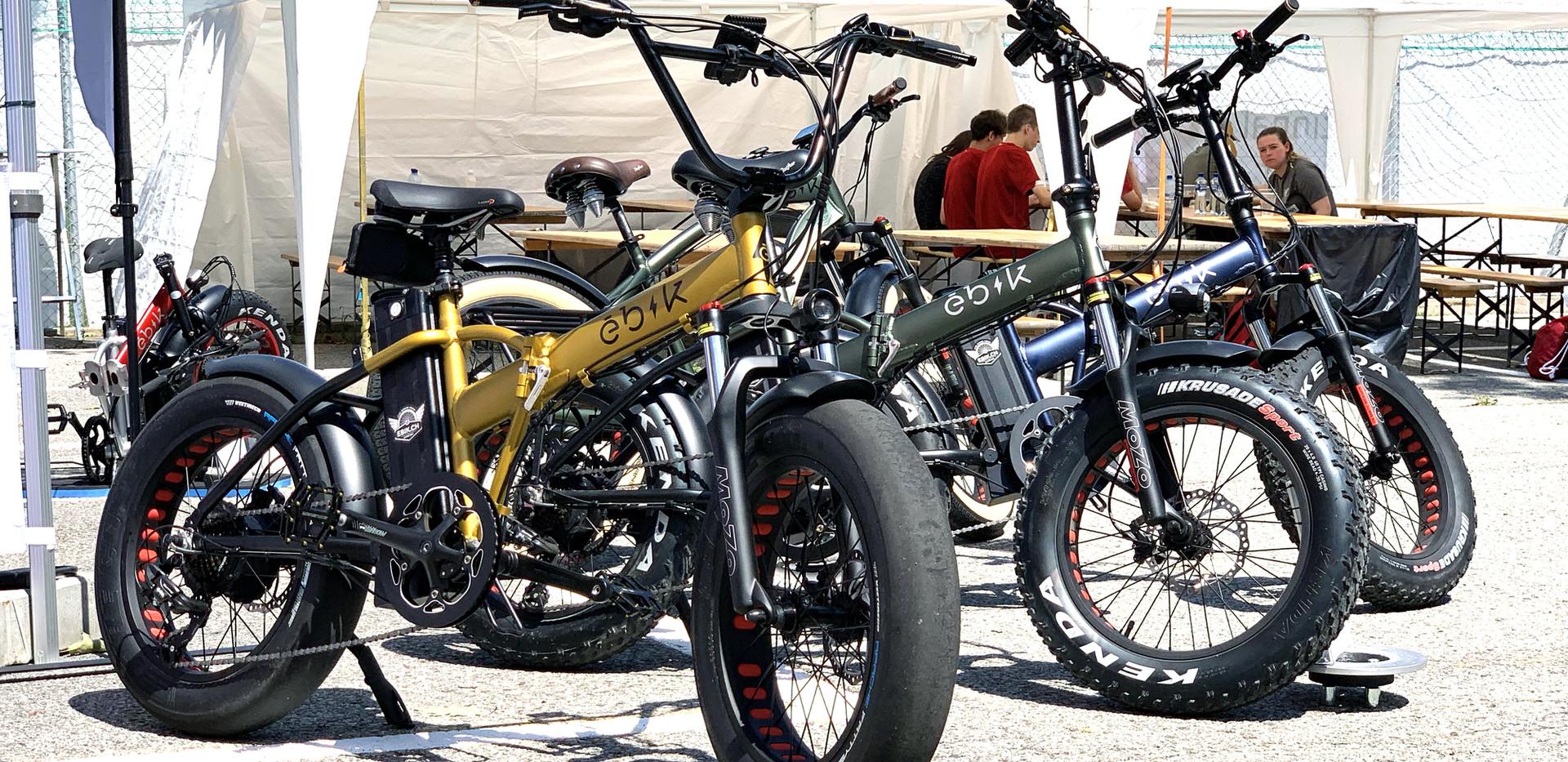 Ebik Bikes Stand