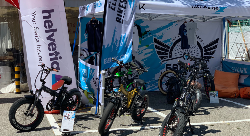 Bikes at the stand