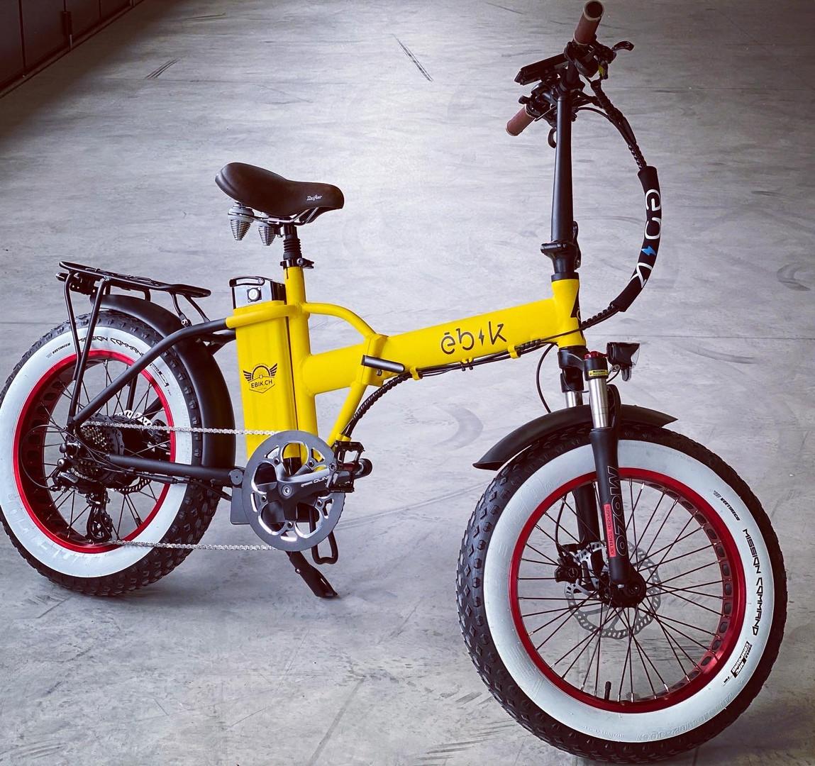 Ebik Brick Lane Yellow Custom