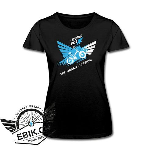 T-shirt donna Ebik Black