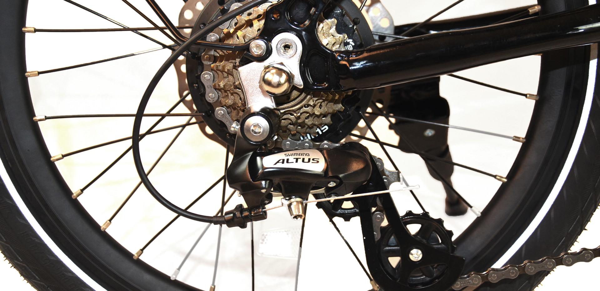 Ebik Mini Shimano Transmission