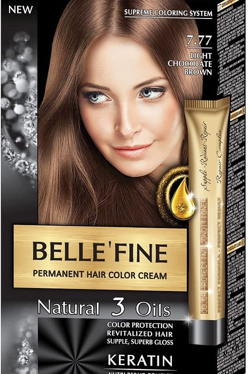 BELLE FINE 7.77 MARRON CHOCOLATE CLARO