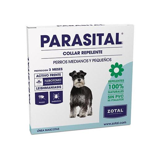 PARASITAL Collar repelente perros medianos y pequeños