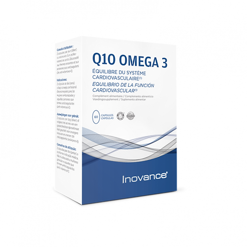 Q10 OMEGA 3 60 cápsulas vegetales