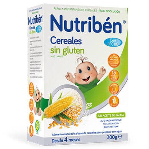 PAPILLA NUTRIBEN Cereales sin gluten 300g