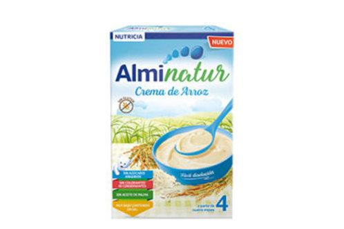 ALMINATUR Crema de arroz 400g