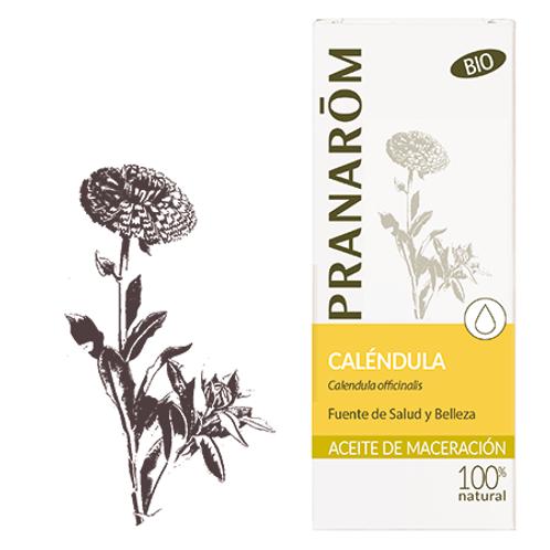 PRANAROM Aceite Vegetal Caléndula 50mL