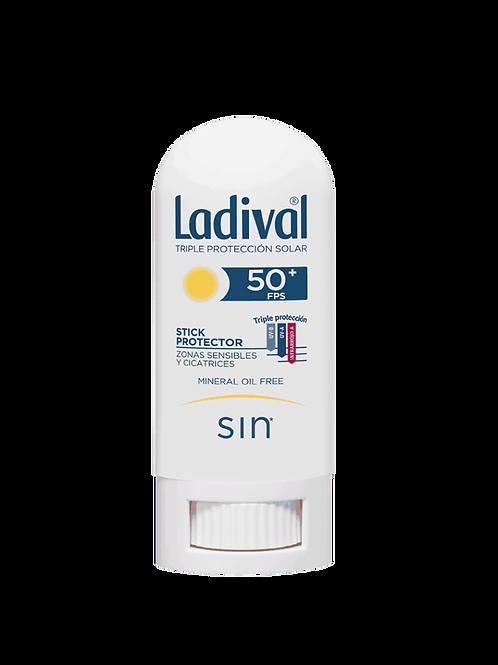 LADIVAL Stick protector Zonas sensibles y cicatrices SPF50+ 8g