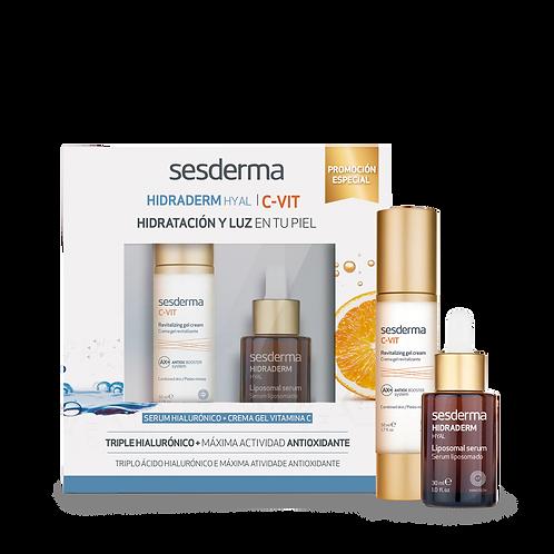 SESDERMA Pack HidradermHyal+Sérum C-Vit