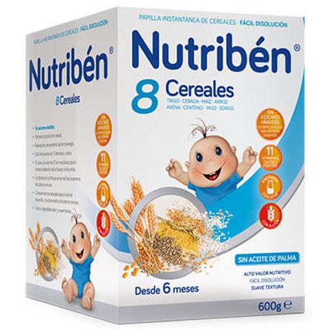 PAPILLA NUTRIBEN 8 Cereales 600g