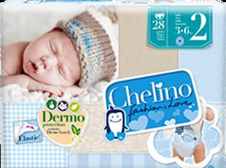 Chelino Fashion & Love Pañal infantil T-2 (3-6KG) 28 pañales