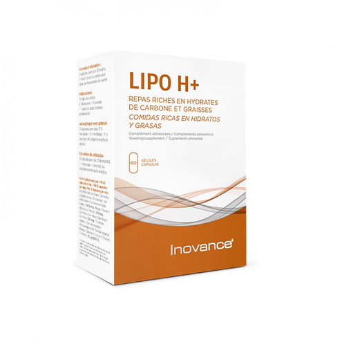 LIPO H+ INOVANCE 60 cápsulas