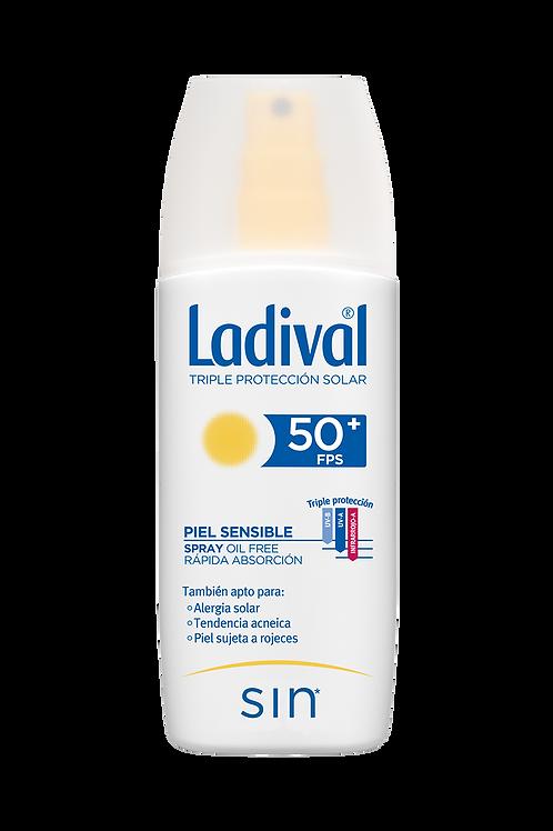 LADIVAL Piel Sensible Spray Oil free SPF50+ 150mL