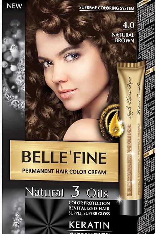 BELLE FINE 4.0 MARRON NATURAL