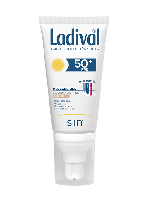 LADIVAL Piel Sensible Spray Oil free con color SPF50+ 50mL