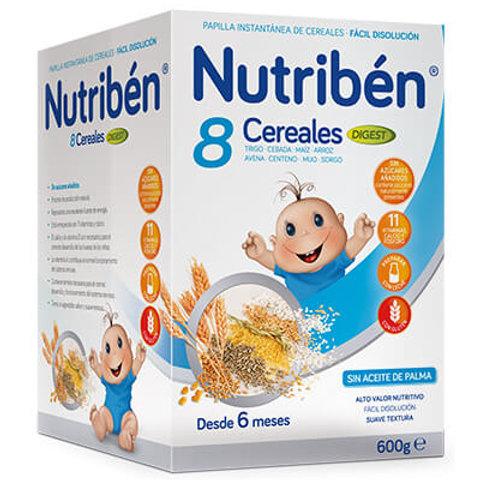 PAPILLA NUTRIBEN 8 Cereales digest 600g