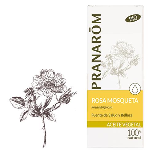 PRANAROM Aceite Vegetal Rosa Mosqueta 50mL