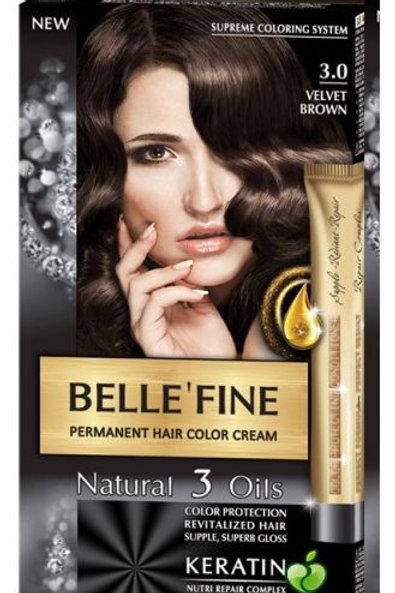 BELLE FINE 3.0 MARRON VELVET
