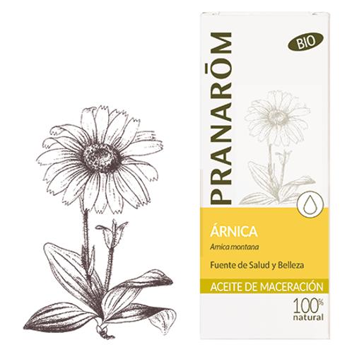 PRANAROM Aceite Vegetal Árnica 50mL