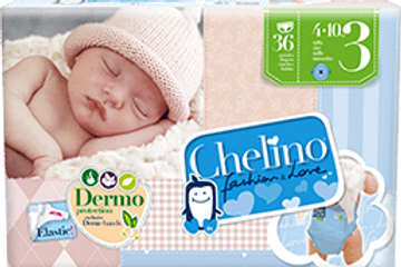 Chelino Fashion & Love Pañal Infantil T-3 (4-10 kg) 36 pañales