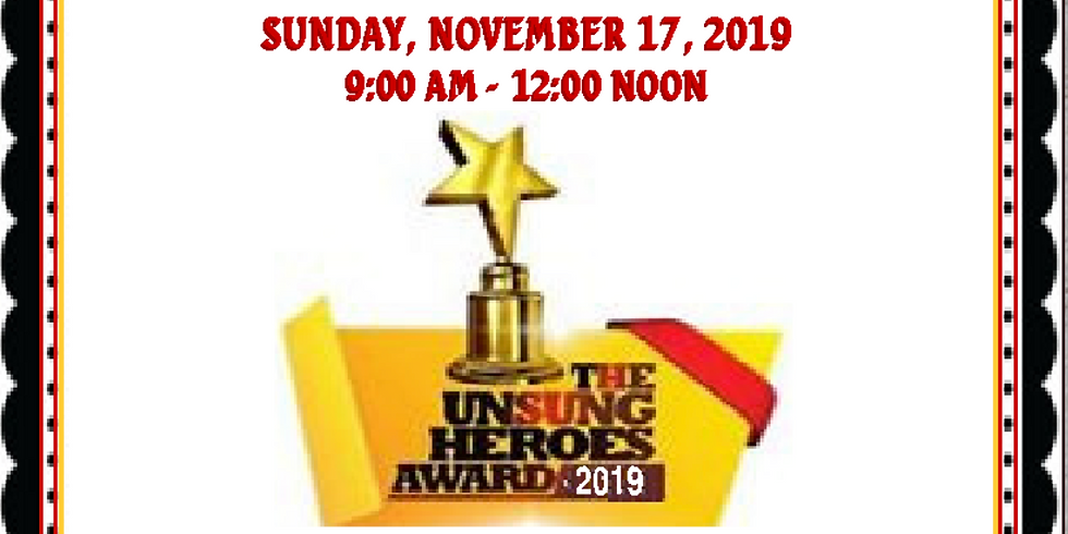 Unsung Heroes: 5th Annual Awards Breakfast