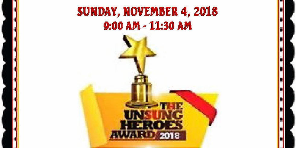 Unsung Heroes 4th Annual Awards Breakfast