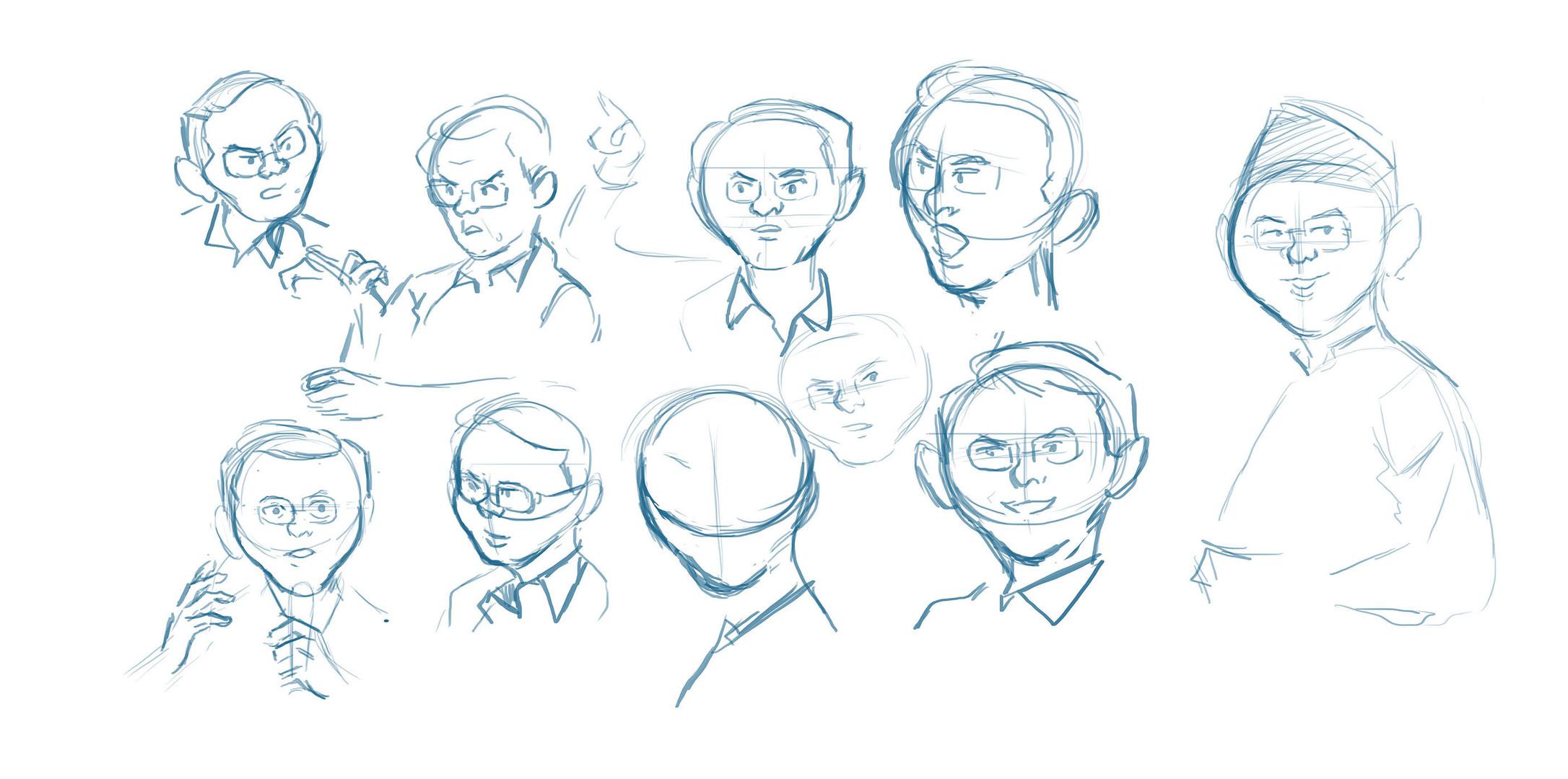 Ahok Sketches
