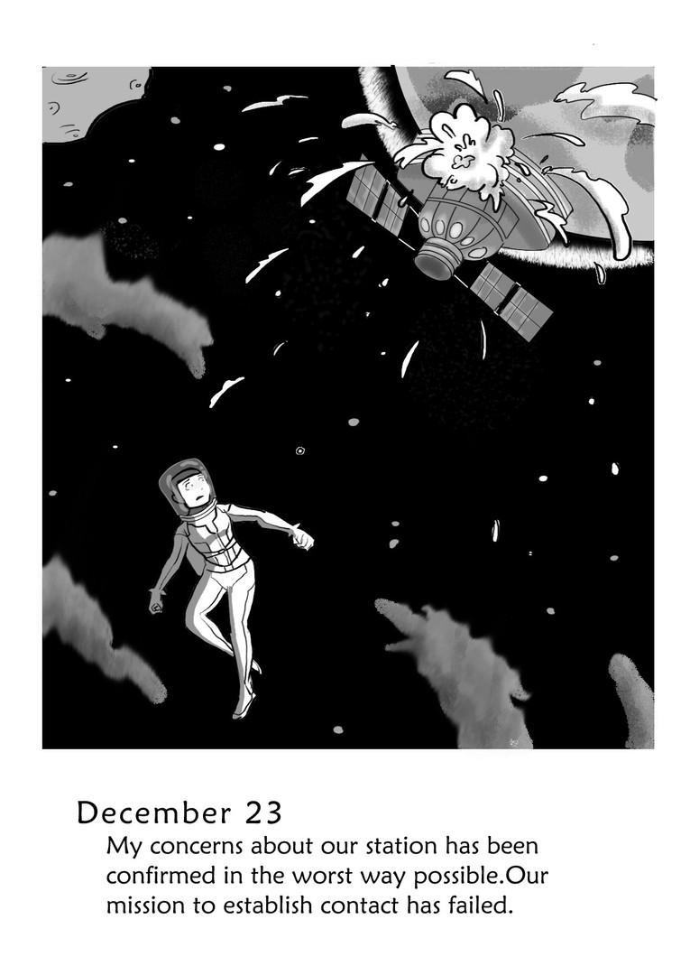 I'm With You: Astronaut M. Sato's Last Log