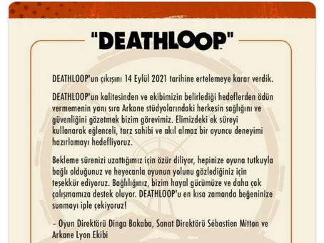 Zaman Döngüsü Temalı PS5 Oyunu Deathloop, Bir Kez Daha Ertelendi