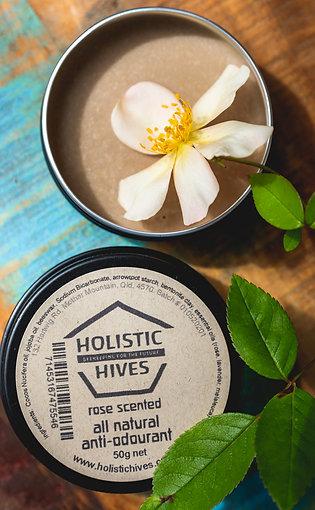 Anti-odourant - Rose scented