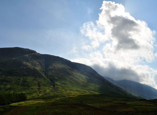 スコットランドに山はある?