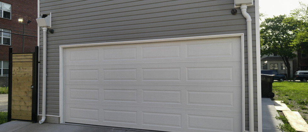 New Built Garage