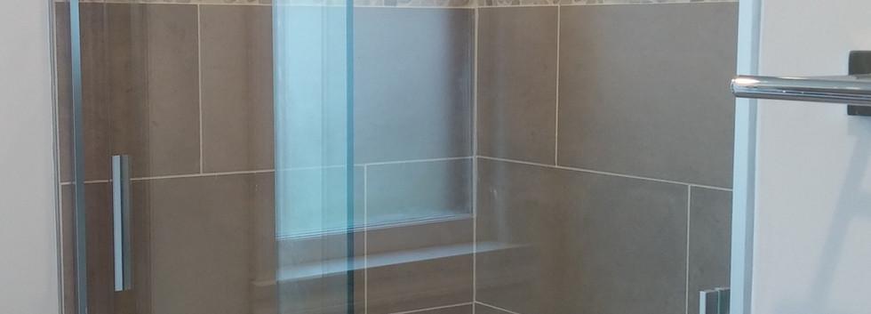 Shower Glass Door Install