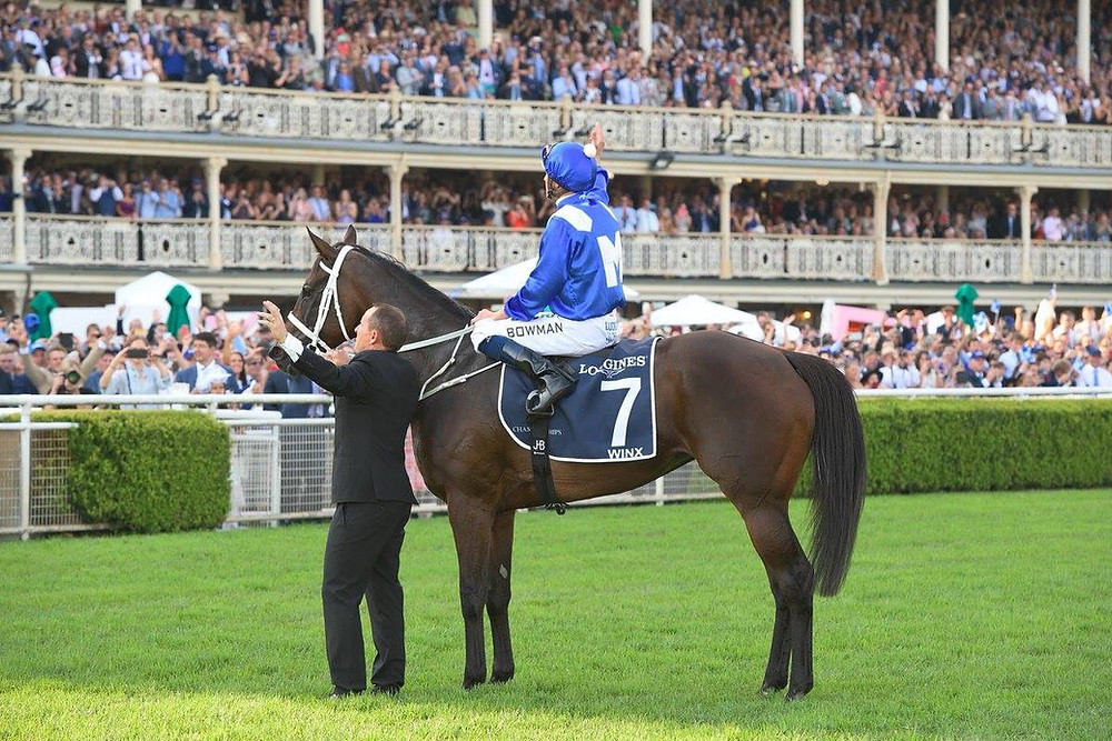 Randwick's sold out crowd farewell Winx