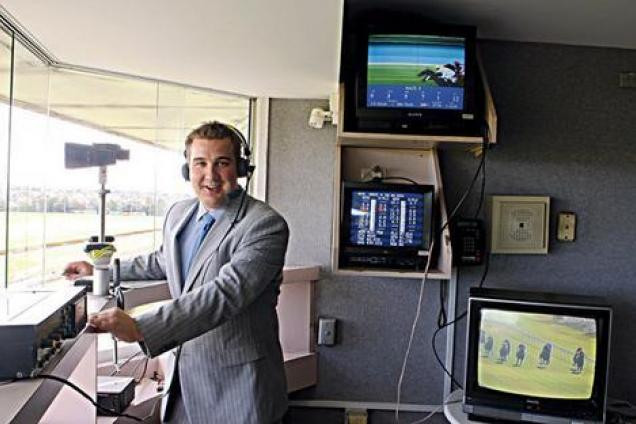 Racecaller Matt Hill will soon take over from retiring Greg Miles