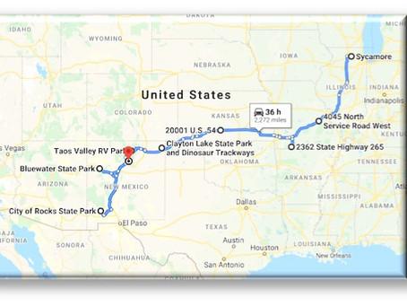 5/16/2020 - Roadtrip: Heading Southwest