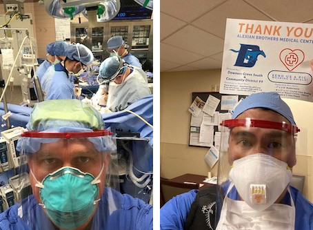 04/15/2020 -- Update: Our Face Shields in Use