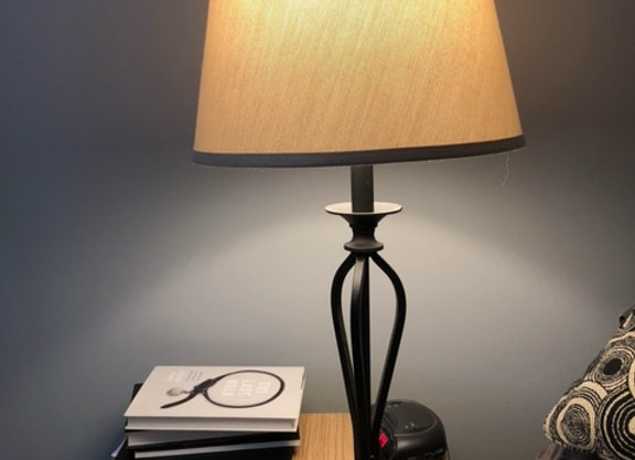 """Side Table Lamp 28"""" Tall"""