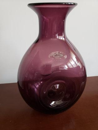 Blenko Pinch Vase