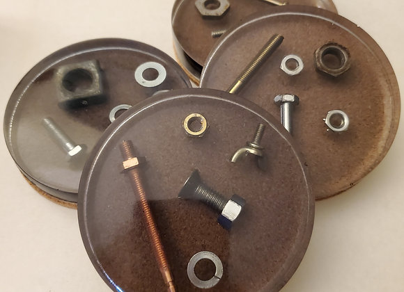 Nuts & Bolts Coasters
