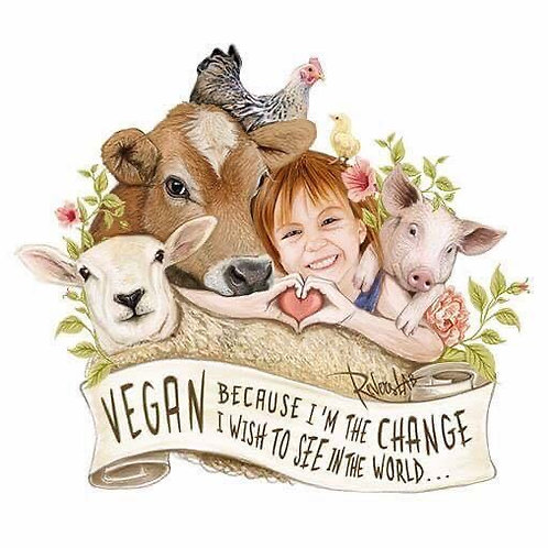 Vegan Because ..