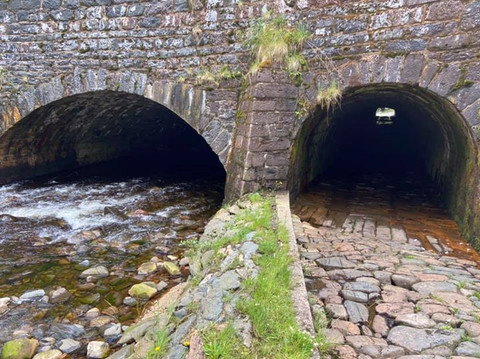 Under the Caledonian Canal